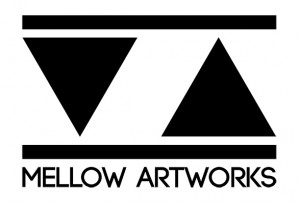 Logo Mellow Artworks - white